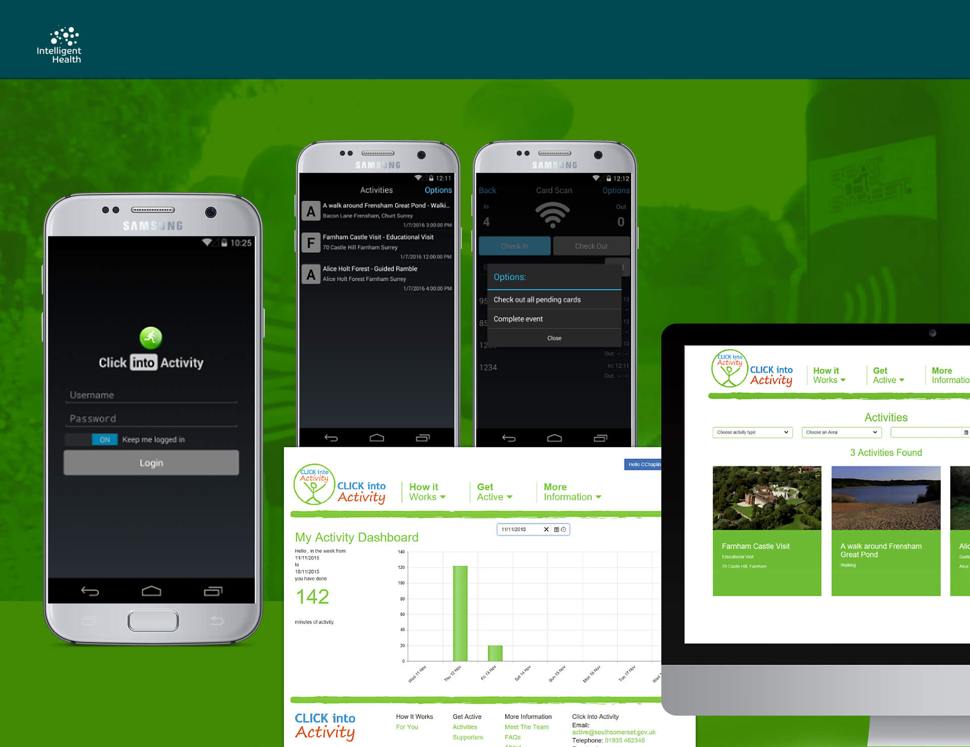 Intelligent Health - RFID Solution and Smartphone App