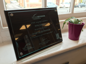ISTQB Silver Partner Plaque for Software Testing