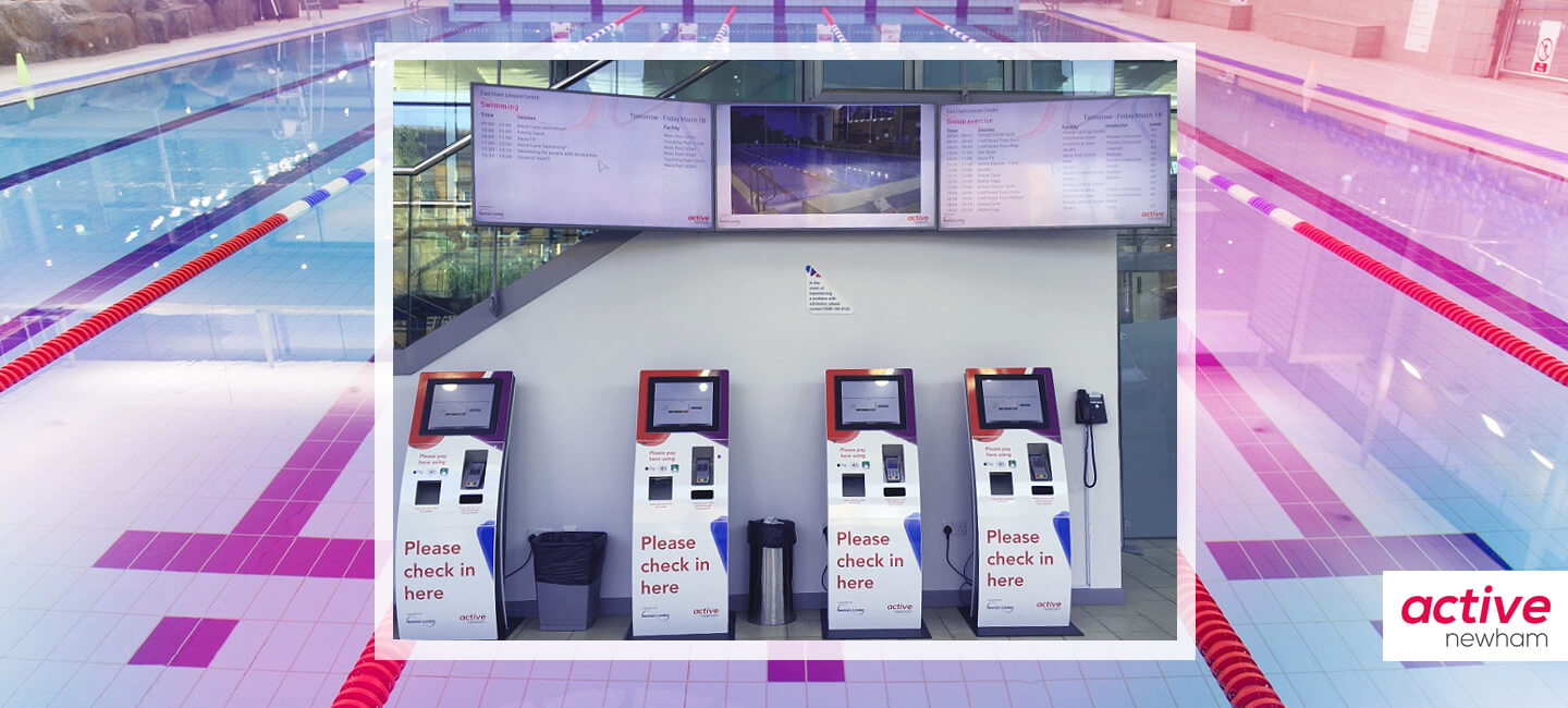 Active Newham - Co-ordinated, Web-Enabled Wall-Mounted Displays for Leisure Centres