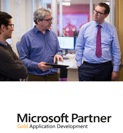 Microsoft Gold Partner for Application Development