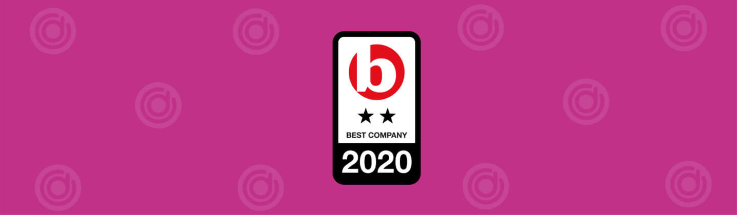 Best Companies 2* Accreditation Award for workplace engagement