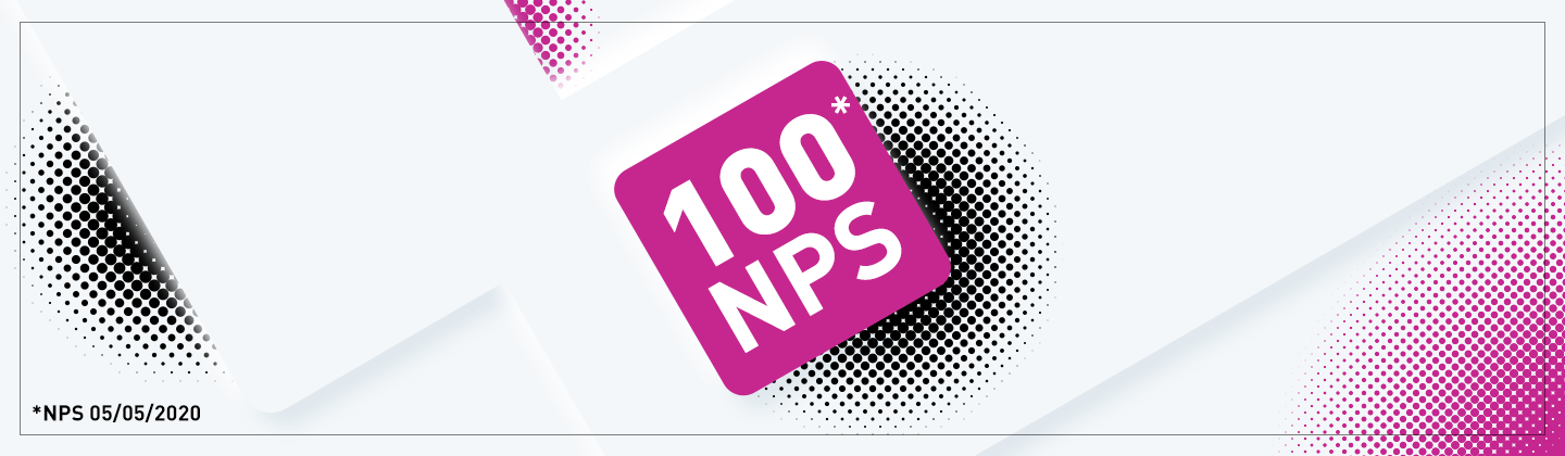 Our NPS Score is 100