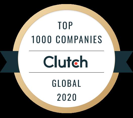 Clutch - Top 1000 Companies Global 2020