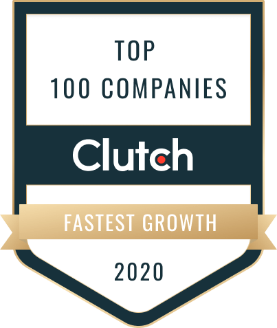 Clutch - Top 100 Companies 2020 - Fastest Growth