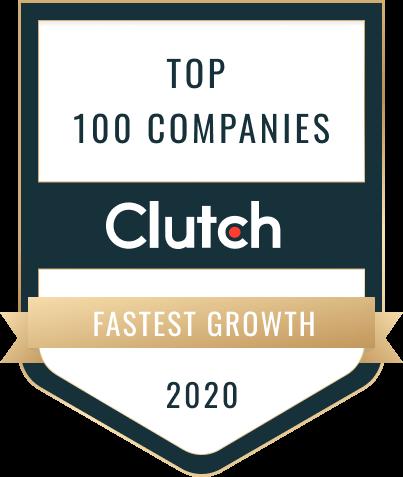 Clutch - Top 100 Companies 2020 - Fastest Growth