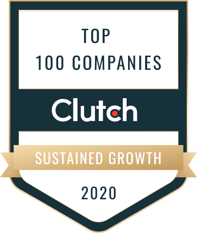 Clutch - Top 100 Companies 2020 - Sustained Growth