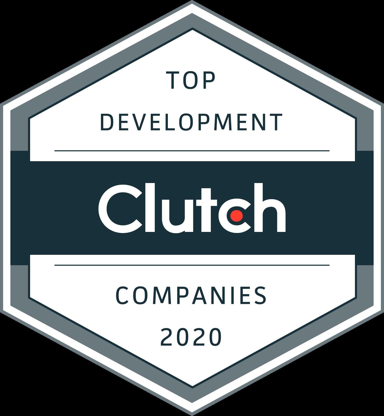 Clutch - Top Development Companies 2020