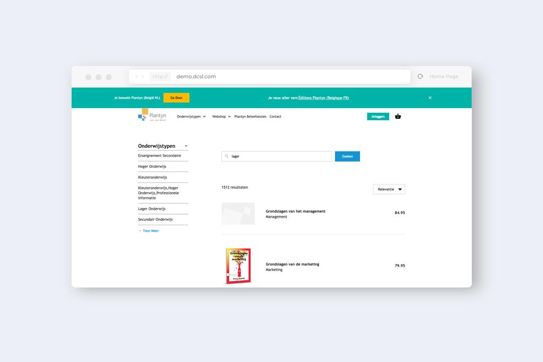 Infinitas Learning - eCommerce platform