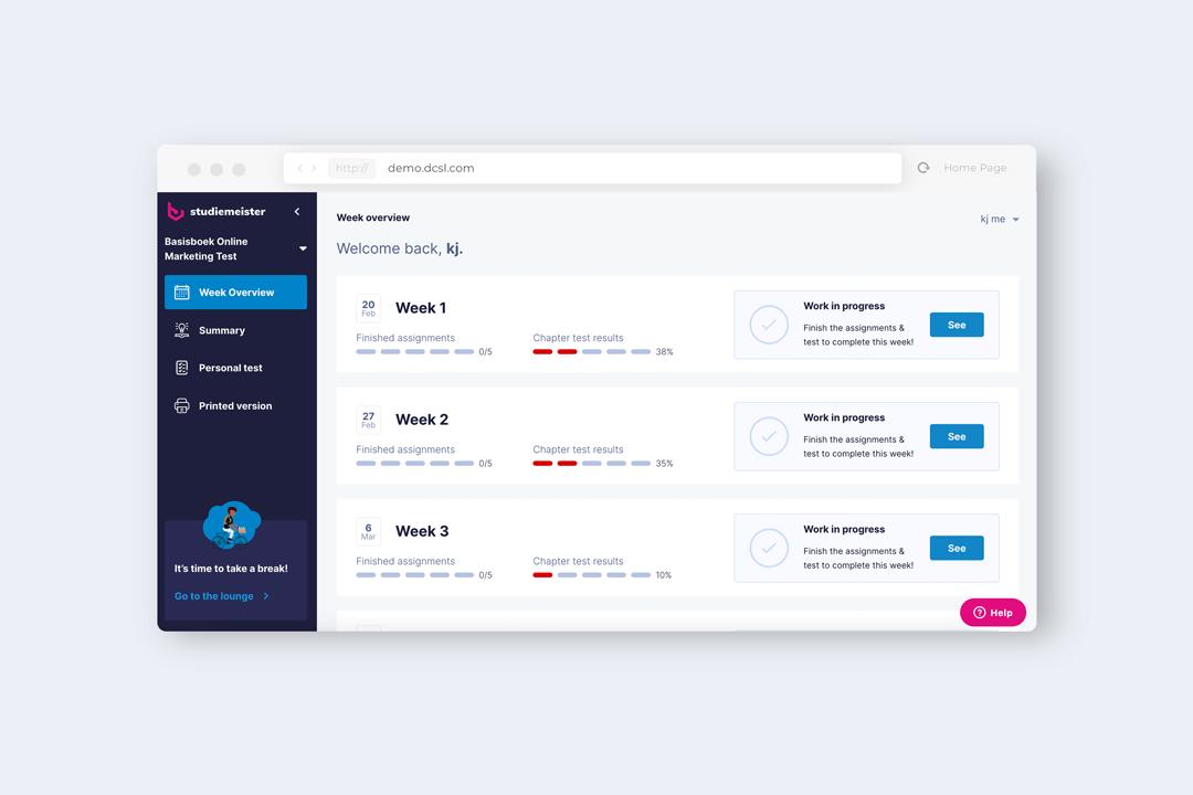 Infinitas Learning - eLearning platform